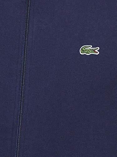 Lacoste Sport Herren SH7616 Reißverschluss Jacke, Blau (Marine), Medium (Herstellergröße: 4) - 6