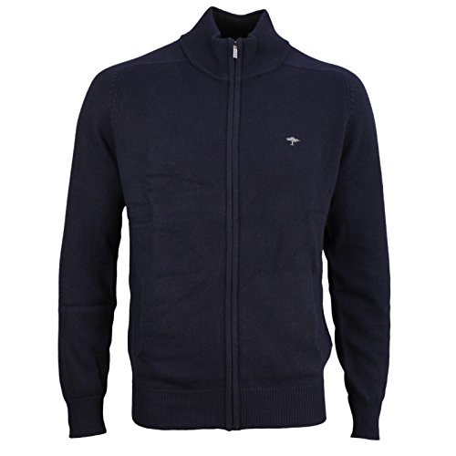 FYNCH-HATTON Herren Cardigan-Zip, Blau