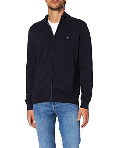 FYNCH-HATTON Herren Cardigan, Blau