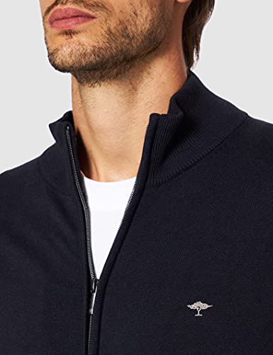 FYNCH-HATTON Herren Cardigan, Blau - 3