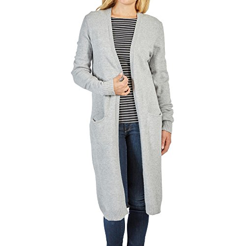 Vila Clothes Damen Cardigan-NOOS, Grau
