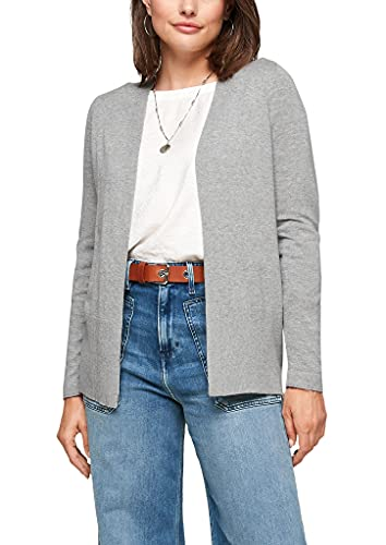 s.Oliver Damen Strickjacke in Grau