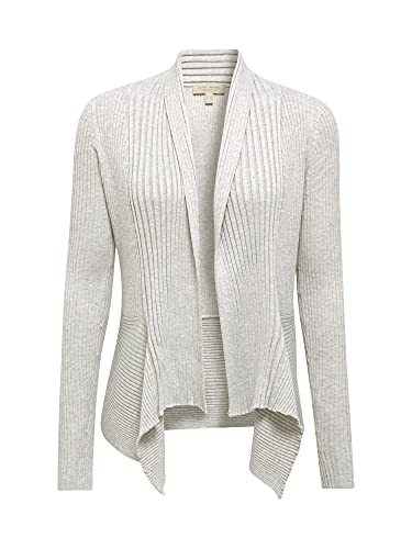 ESPRIT Damen 998EE1I803 Strickjacke, Grau (Light Grey 044), S - 3