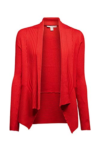 ESPRIT Damen 998EE1I803 Strickjacke, Rot (Red 632) 5/19, M - 4