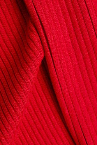 ESPRIT Damen 998EE1I803 Strickjacke, Rot (Red 632) 5/19, M - 5