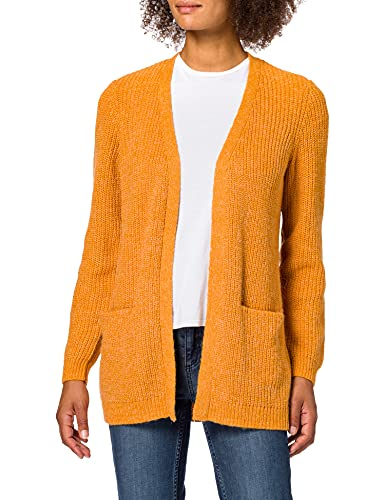 Vila NOS Damen Vigood Cardigan, Gold