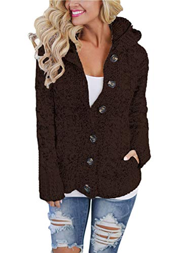 Happy Sailed Damen Cardigan, Braun