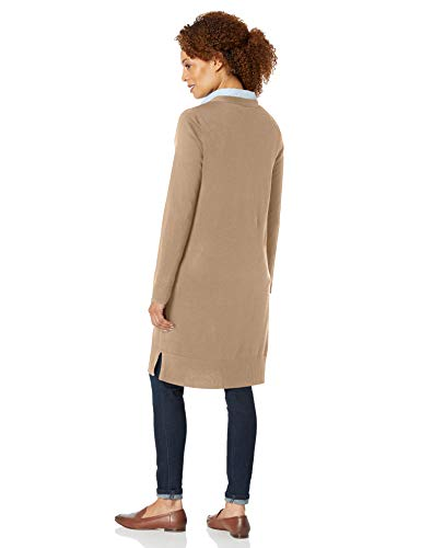 Amazon Essentials Damen Long-Cardigan, Beige - 5