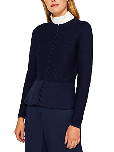 ESPRIT Collection Damen Cardigan, Blau