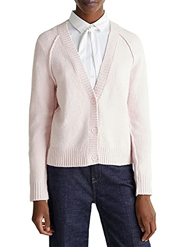 ESPRIT Damen Cardigan, Rosa (Light Pink)