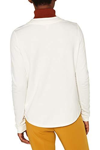 ESPRIT Damen 099EE1K066 Strickjacke, Weiß (Off White 110), Medium (Herstellergröße: M) - 2