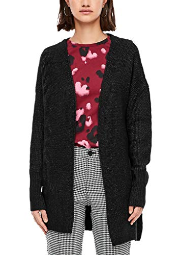 Q/S designed by - s.Oliver Damen Longcardigan aus Rippstrick