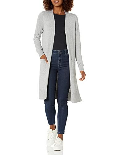 Amazon Essentials Damen-Cardigan, leicht, Grau