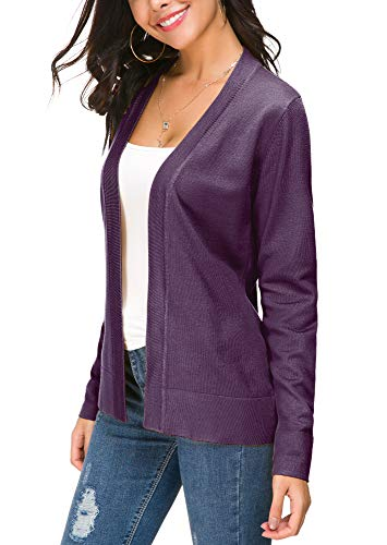 EXCHIC Damen Cardigan Lila - 4
