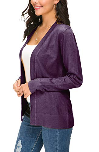 EXCHIC Damen Cardigan Lila - 5
