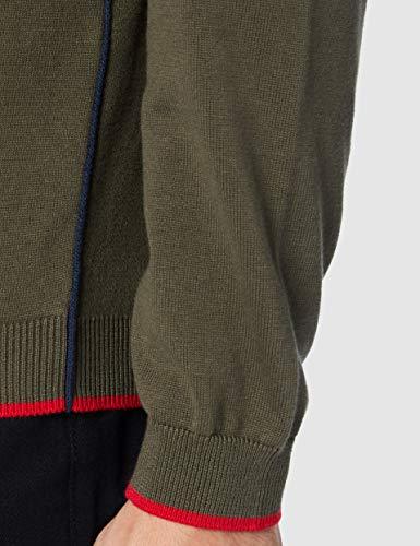 BOSS Mens Zoston_W20 Cardigan Sweater, Dark Green (305), XXXL - 5