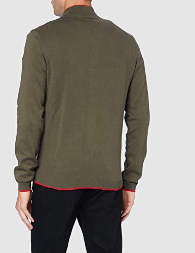 BOSS Mens Zoston_W20 Cardigan Sweater, Dark Green (305), XXXL - 2
