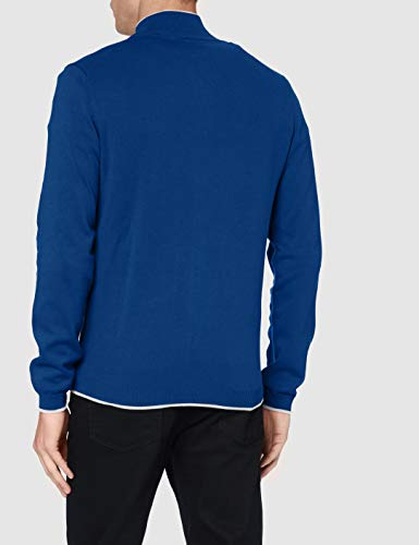 BOSS Mens Zoston_W20 Cardigan Sweater, Open Blue (493), XXXL - 5