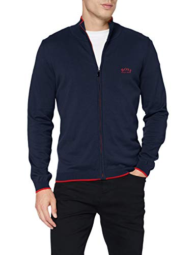 BOSS Mens Cardigan, Navy-Blau